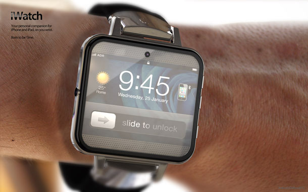iWatch mockup by Antonio DeRosa von ADR Studio