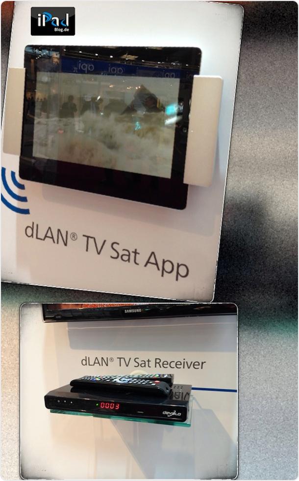 dlan TV Sat 2400-CI+ Komplettlösung mit der iPad App