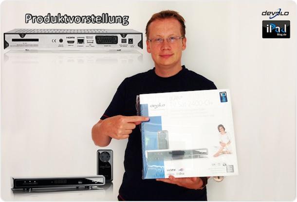 iPadBlog präsentiert den devolo dLAN® TV Sat 2400-CI+