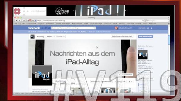 Titelbild zur Videoepisode V119 auf iPadBlog.de