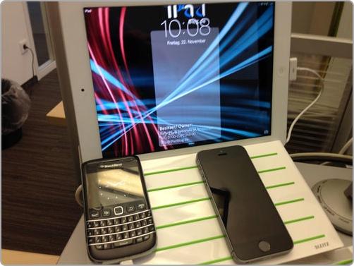 Stets Volle Ladung Die Leitz Mulitladestation Powered IPad Und IPhone IPadBlogde