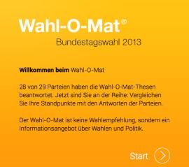 Wahl-O-Mat-App