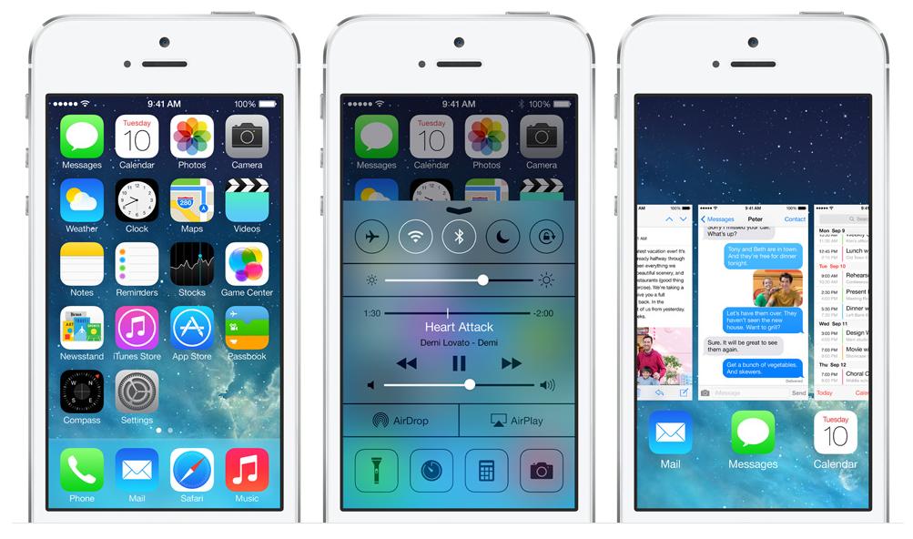 iOS7-Neuheiten