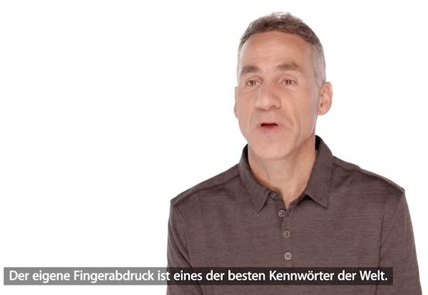 Dan Riccio - Hardware Engineering über den Fingerprint Sensor