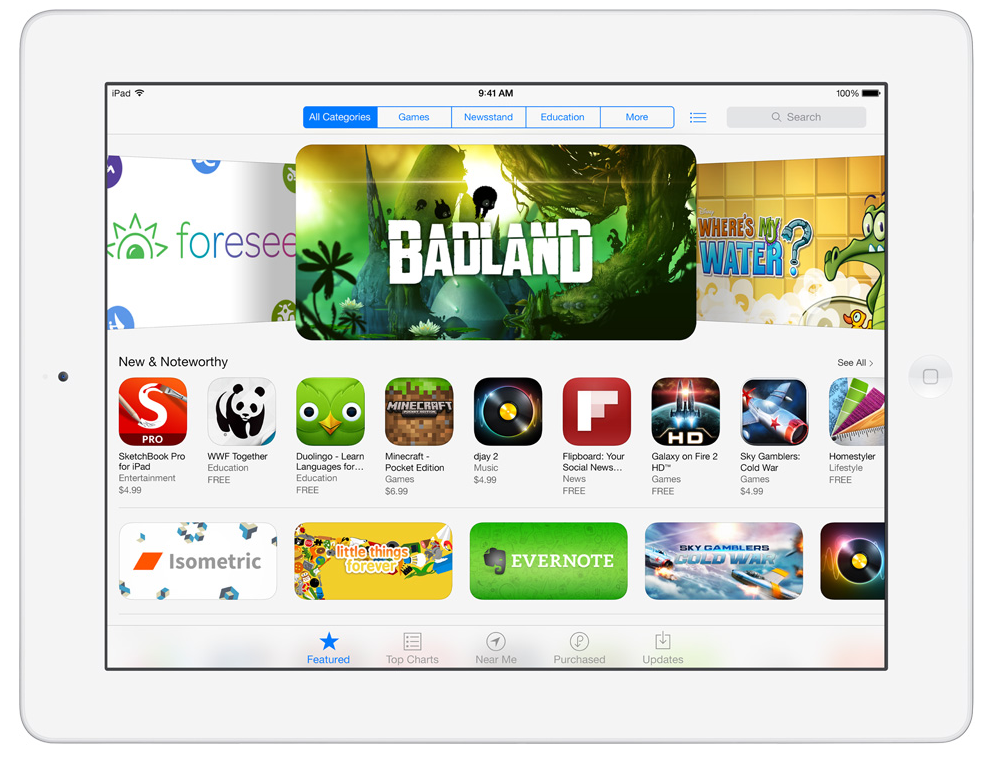 iTUnes auf iOS7