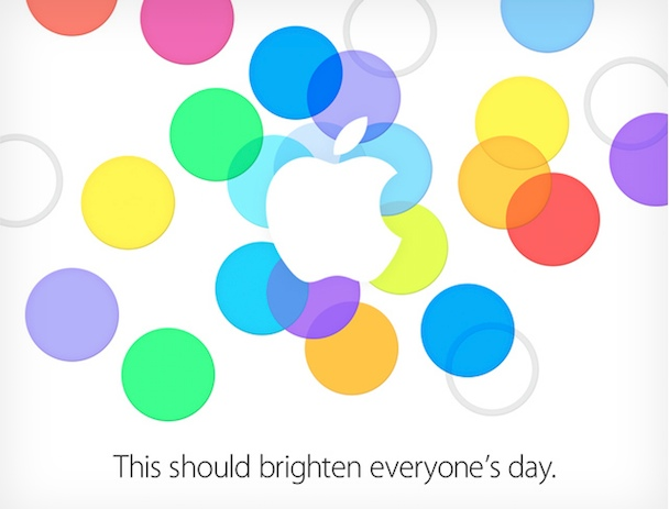 Apple Keynote am 10. September 2013