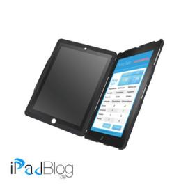 Leitz Complete Blickschutzhülle Hochformat mit Standfuß für Neues iPad