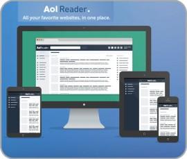 Beitragsbild für AOL Reader beim iPadBlog