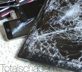 Kratzer oder Totalschaden beim iPad oder iPhone?