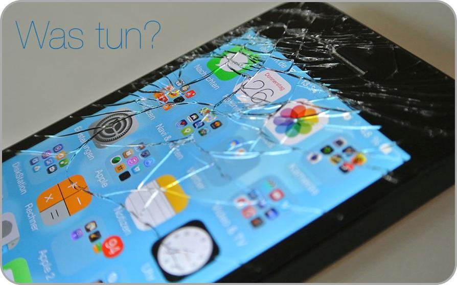 Displayschaden am iPhone5 - was tun?