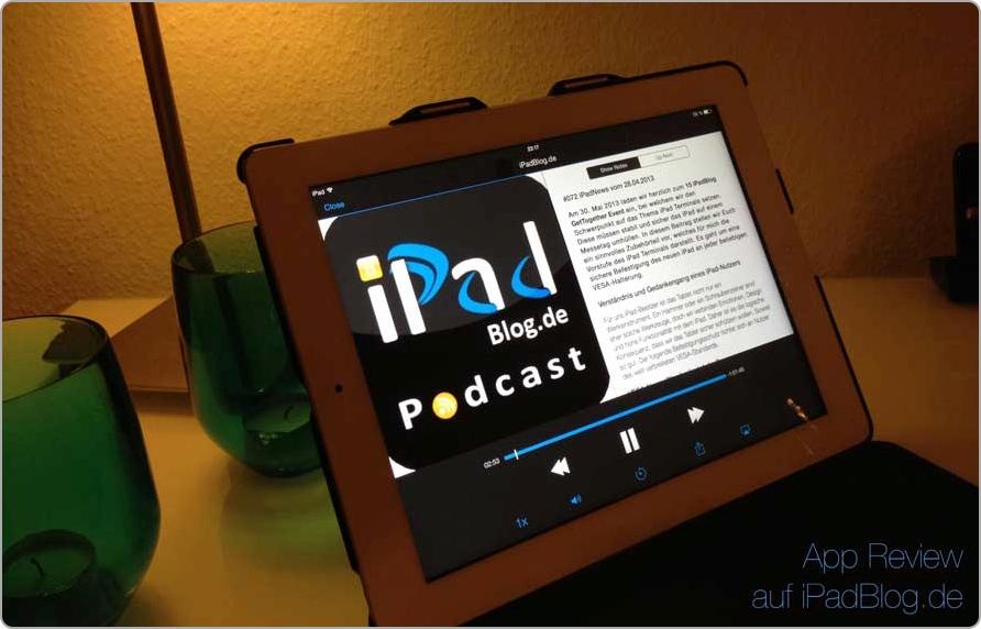 Mit Pocket Casts iPadBlog hören