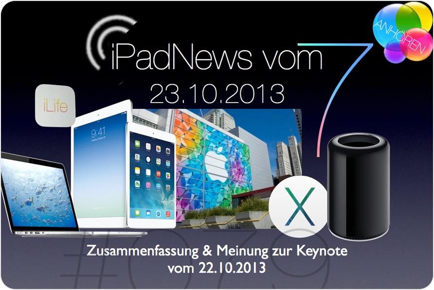iPadNews vom 23.10.2013