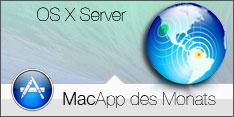 MacApp des Monats Januar 2014 OS X Server
