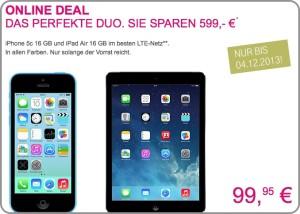 Deal 2 der Telekom - iPad un diPhone
