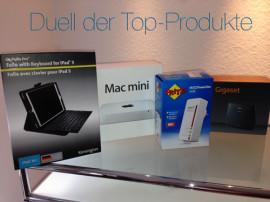 Duell der Top-Produkte