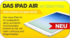 iPad Air am Black Friday – coole Deals
