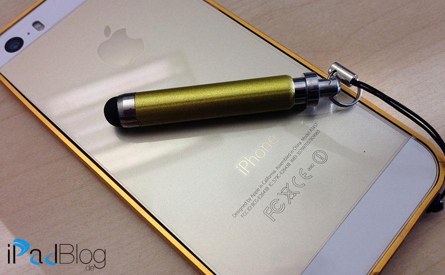 Eingabestift am iPhone 5S