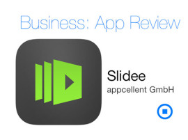 Slidee App Review beim iPadBlog