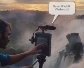 Werbespot Apple iPad Air im Januar 2014