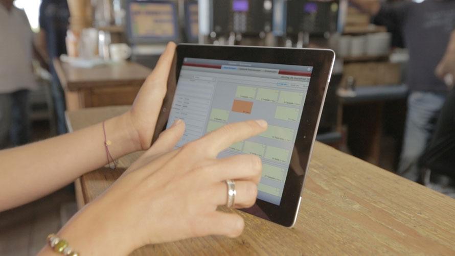 Restaurant Reservierung mit dem iPad in der Sansibar
