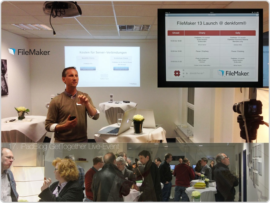 Teaser Event FileMaker bei der denkform