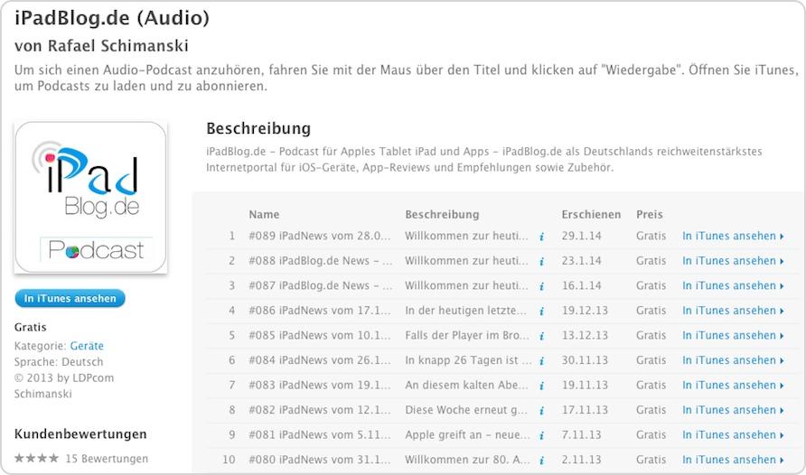 iPadBlog.de (Audio) von LDPcom Schimanski