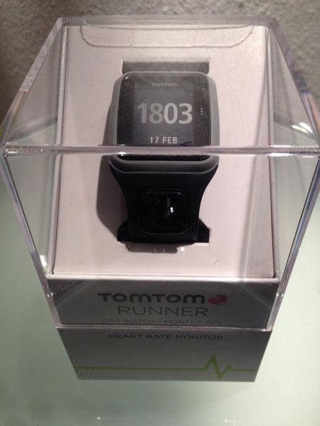 Was ist in der Box von TomTom Runner?