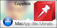 Die MacApp des Monats März 2014 lautet Copyless