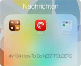 Teaser für Videoepisode 134 – Erstellung von Nest Folder auf einem iPad