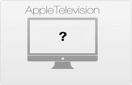 Apple Television hat ein Fragezeichen