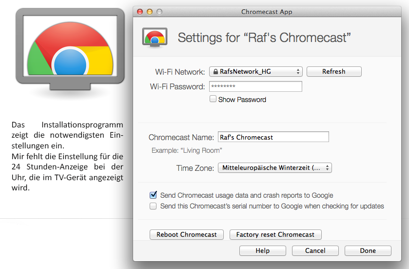 Software Chromecast