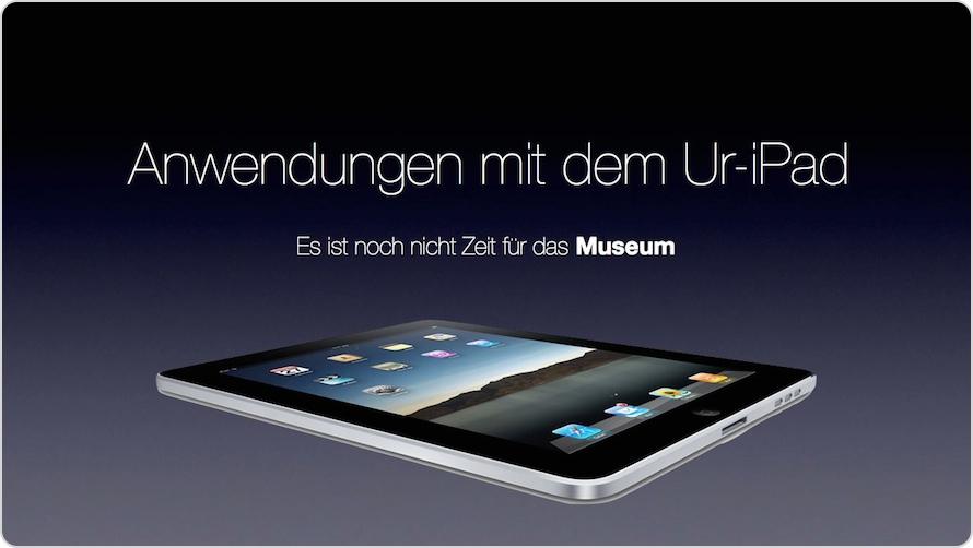 Ur-iPad Teaser