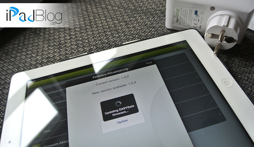 Tipp ein Firmware-Update bei tapHome durchführen