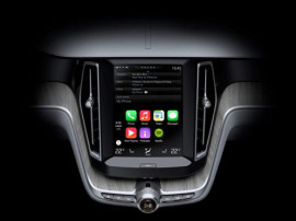 Volvo Partnerschaft mit Apple – CarPlay