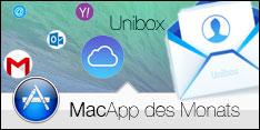 MacApp des Monats Mai 2014 - Unibox
