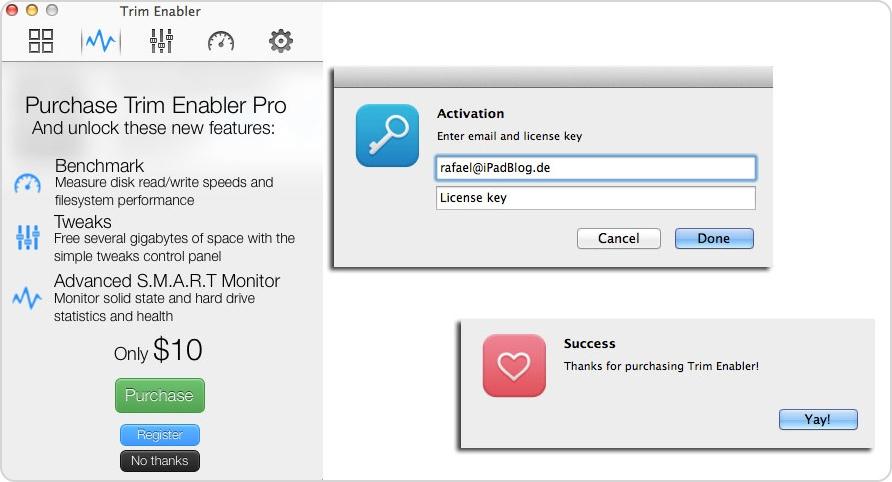 Einkauf TRIM Enabler Pro für $ 10,-