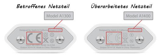Apple Netzteil USB