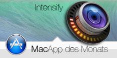 MacApp des Monats Juli 2014 - Intensify