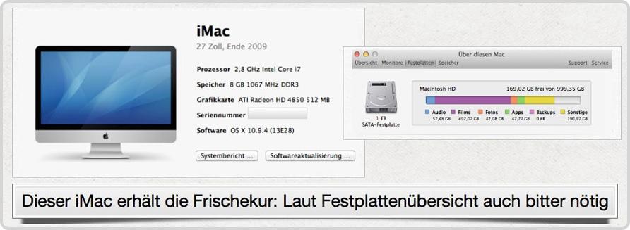 iMac Übersicht