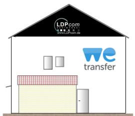 Das Haus von WeTransfer