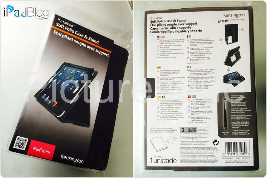 Kensington K97014WW Comercio Soft Folio Case und Stand für Apple iPad Air plum - jetzt bei AMAZON bestellen