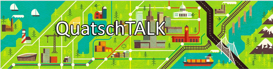 Header QuatschTALK beim iPadBlog GetTogether Live-Event