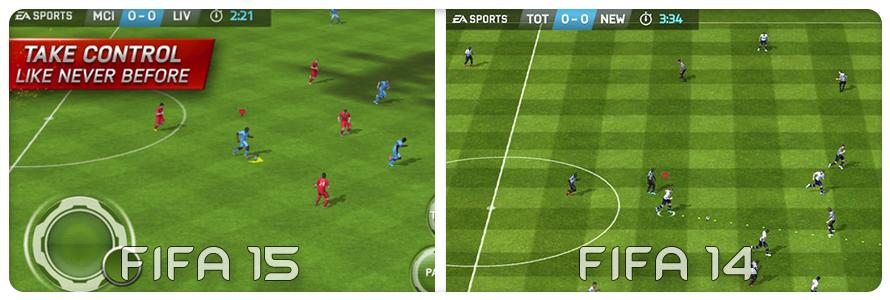 Fifa-Vergleich