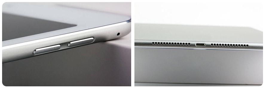 Wie bei der neuen iPhone Generation, eingelassene Lautstärkebuttons, schick nicht wahr?