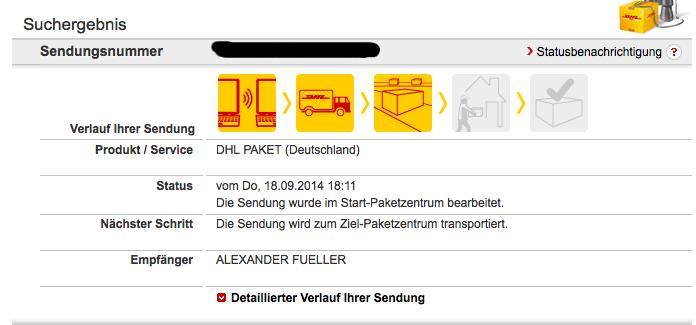 iPhone6-Lieferstatus-Sendungsverfolgung-DHL