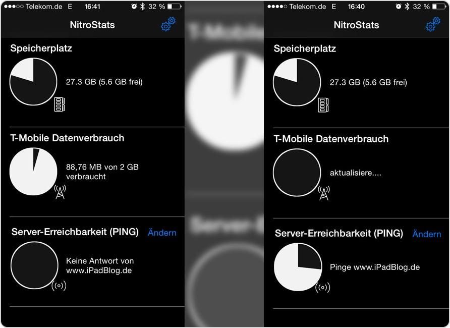 NitroStats als App