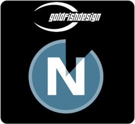 Icon und Logo von NitroStats von goldfish design