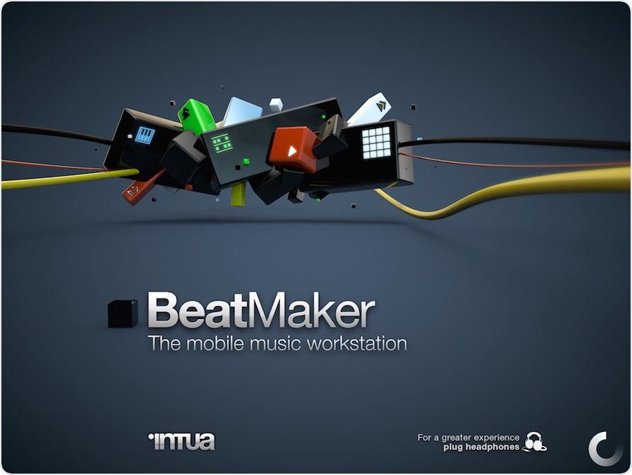 Startscreen von BeatMaker 2