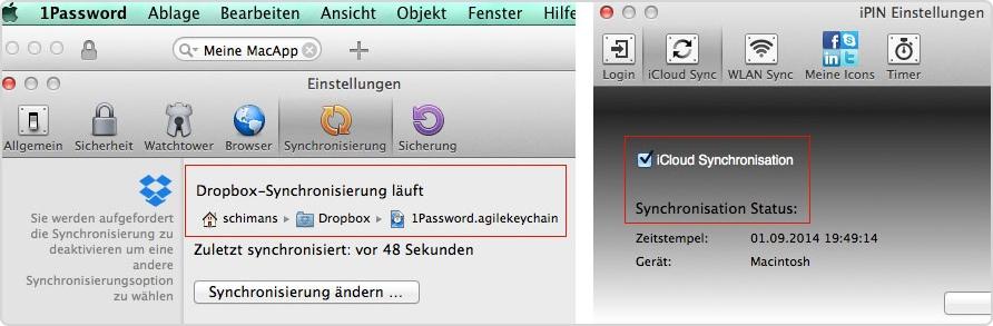 Das Tor zum CleanInstall bestreite ich mit 1Password und iPin