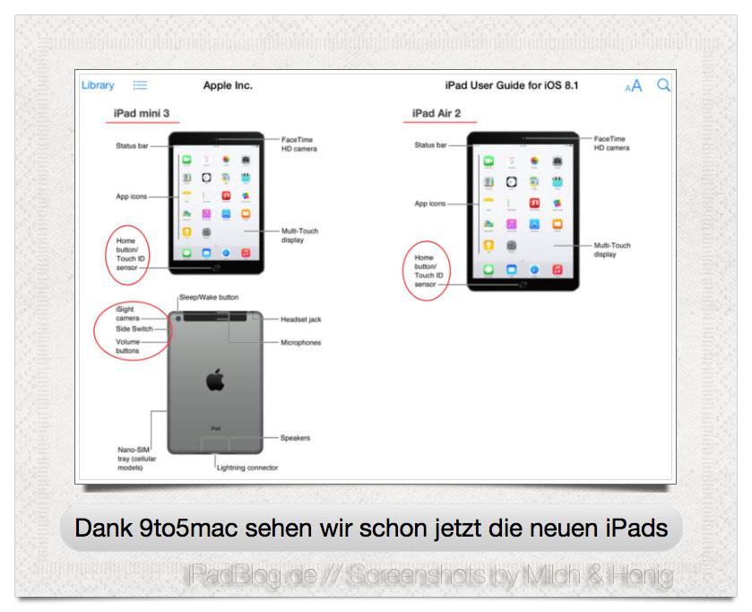 iPad Leak - schon jetzt zu sehen
